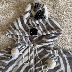 Hooded ZEBRA ONSIE NWOT